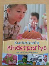 """BUCH - Kindergeburtstag """"Kinderpartys"""" organisieren - sehr gut erhalten"""