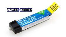 E-Flite 150mAh 1S 3.7V 45C LiPo Battery: PH 1.5 (Ultra Micro) EFLB1501S45 HH
