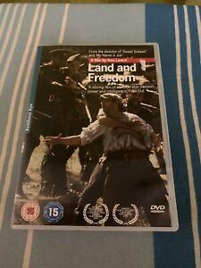 Land And Freedom (DVD, 2005)- DVD- REGION 2