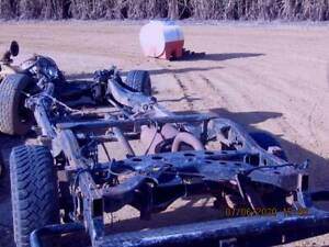 01/07 RODEO CHASSIS only done 107000 klm