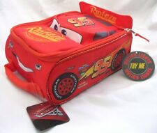 Disney Cars Lightning McQueen Insulated Lunch Bag Lunchbox Lunch Bag-New!