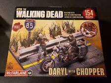 McFarlane Toys Building Sets -The Walking Dead TV Daryl Dixon with Chopper