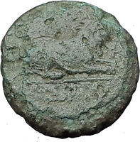 KASSANDER 316BC Pella Macedonia HERCULES LION Original Ancient Greek Coin i61597