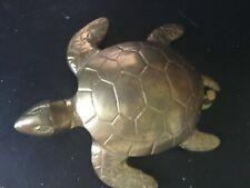 Decorative Turtle - Door Knocker - Polished Brass (Must See)