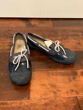 UGG Australia Blue Waterproof Rubber Boat Shoes, Size 9.5 (US), 8 (UK)