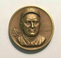 "HTF Medallic Art Company Bronze Medal Statehood Series Ty Cobb - ""Georgia Peach"""