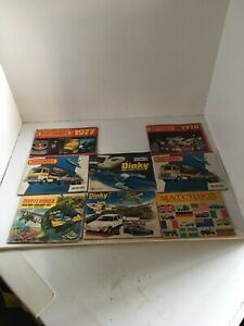 Lot of 6 Vintage Lesney Matchbox Collector Catalog Catalogues 60's, 70's, 80's