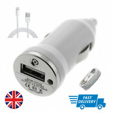 Universal in Car Plug & Usb Data Cable For Apple IPHONE 5 5S 6 6S 7 8 & X