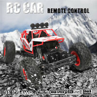 1/16 4WD 2.4GHz High Speed Remote Control RC Racing Crawler Car Off Road RTR Toy