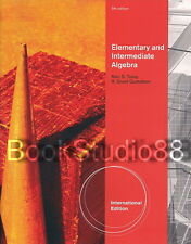 NEW 3 Days US Elementary and Intermediate Algebra 5E Tussy Gustafson 5th Edition