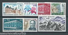 FRANCE - 1969 YT 1596 à 1602 - TIMBRES NEUFS** LUXE