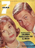 DICK VAN DYKE AND TERRY MOORE Rare Argentina Magazine 1965