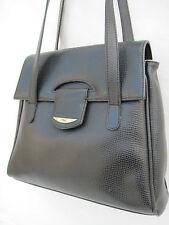 -AUTHENTIQUE sac à main   LORENZO  cuir TBEG vintage bag