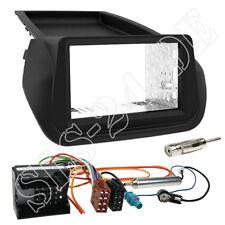 Fiat Fiorino ab2008 Doppel-DIN Auto Radio Blende Quadlock Adapterkabel Einbauset