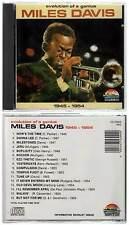 "MILES DAVIS ""Evolution Of A Genius 1945-1954"" (CD)  NEUF"