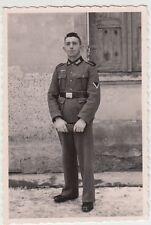 (F928) Orig. Foto Portrait Wehrmacht-Soldat, 1940er