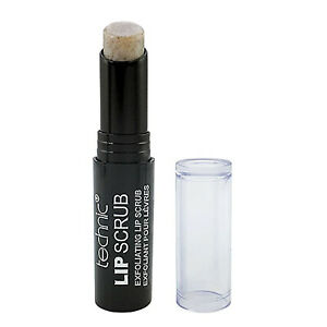 Technic Exfoliating Lip Scrub Sugar Exfoliator Treatment Smooth Soft Lips, Vegan