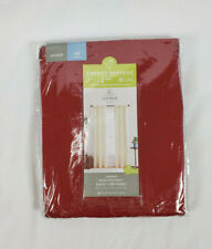 """JCP Home Rustic Red Jenner Lined Rod-Pocket Back-Tab Curtain Panel, 40""""x45"""""""