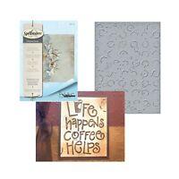Tea and Coffee Pots Darice 30041347 Embossing Folder