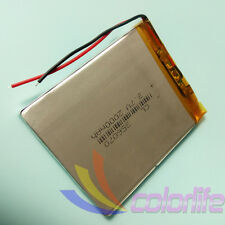 3.7V 2000mAh 356070 Li Polymer Li-Po Rechargeable Battery For Mp3 Bluetooth GPS