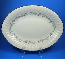 "Syracuse China Silhouette SONATA 12"" Oval Vegetable Serving Platter USA"