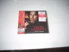 DAVID GARRET - GARRET vs PAGANINI - JAPAN CD + DVD  shm mastering