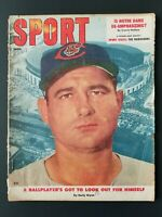 VINTAGE 1957 June  SPORT Magazine   Cover: Early Wynn Cleveland Indians   M1881