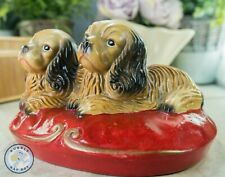 More details for  spaniel puppy dog figurines vintage whimsical