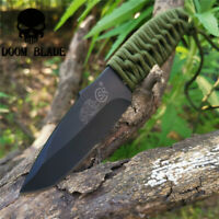 57HRC Tactical Knives Wilderness Fixed Blade Knife Survival Rescue Tools Camping