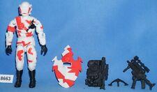 """BLACK MAJOR CUSTOM ARCTIC ALLEY VIPER G.I. Joe 3.75"""" Figure"""