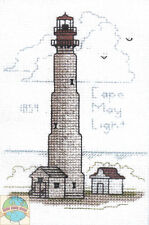 Cross Stitch Kit ~ Historic Lighthouse Cape May Light, NJ #HD215 OOP SALE!