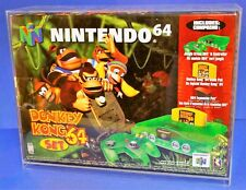 Acrylic display for Nintendo N64 system console by Canadian Acrylic Display