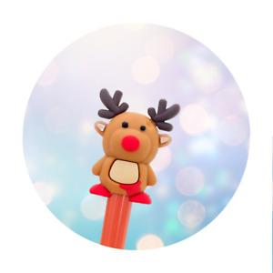 Christmas Pen - Reindeer - Black Ink