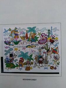Disney Belize Stamps