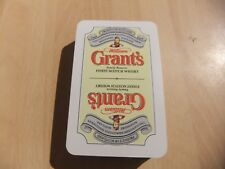Playing Cards Advertising Grants Family Reserve Scotch Whisky in Box not played