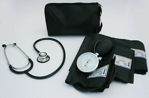 ICE Medical Blood Pressure Sphygmomanometer and Black Stethoscope