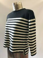 M&S Woman Pure Cashmere Round Neck crop Jumper Size 8-10 Small Marks and Spencer