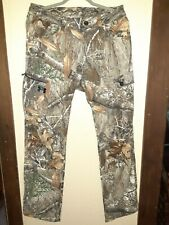 NWT Edge Under Armour Mens Size 32 x 32 Field Ops Pants Camo Hunting Realtree