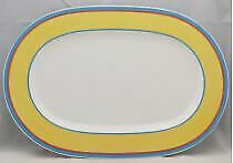 "Villeroy & Boch Twist Anna 16"" Oval Serving Platter"