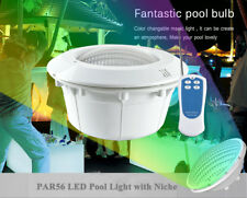 12V 18W 24W 35W 2835 SMD PAR56 RGB/WW/CW LED Fountain Pool Light with Niche Kit