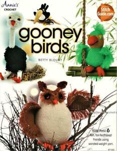 Gooney Birds  Annie's Crochet Pattern Book ~  6 Patterns