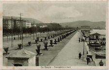LA SPEZIA – PASSEGGIATA A MARE – CARTOLINA FP LIGURIA