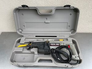 Corded Porter Cable Tiger Saw Model 738 Reciprocating Saw with case 10 Amp