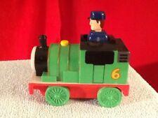 Percy #6 Thomas Tank Train Friend Engine 2004 Tomy Gullane Push 'N Go