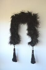 Genuine Antique Vintage 1920´s stole ostrish plumes edwardian art deco era