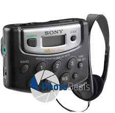 Sony Walkman M37W AM/FM Weather Sports Digital Clock Portable Radio
