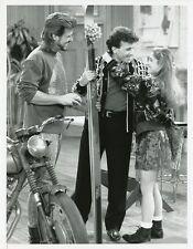STACI KEANAN PAUL REISER WITH SKIS GREG EVIGAN MY TWO DADS ORIG 90 NBC TV PHOTO