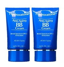**Hydroxatone Anti-Aging BB Cream, SPF 40 Universal Shade **2 pack of 1.5 FL OZ