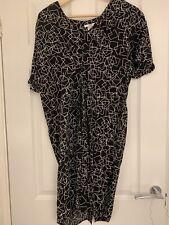 Mamas & Papas Maternity Dress Black Size 12
