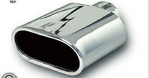 NEW EAGLE CHROME OVAL EXHAUST EXTENSION BAX57 - FITS FORD BA FALCON
